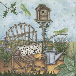 Welcome to the Garden 2 by Robin Betterley