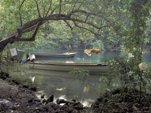 Blue Lagoon near Port Antonio, Mexico by Robin Hill