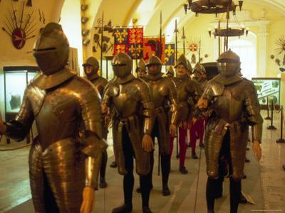 Knights at Grand Master's Palace, Valletta, Malta by Robin Hill
