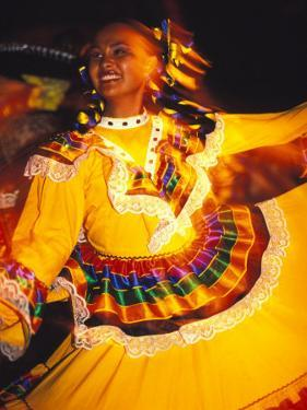 Traditional Mexican Dress, Caribbean by Robin Hill