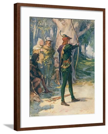 Robin Hood-Robert Hope-Framed Giclee Print