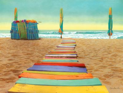 Beach Walk by Robin Renee Hix