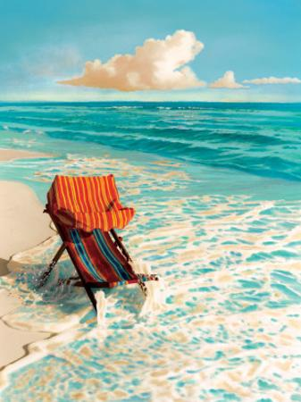 Blue Sky Splash by Robin Renee Hix