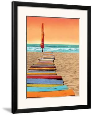 Orange Beachwalk by Robin Renee Hix