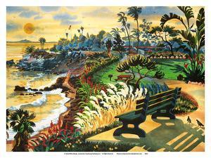 Heisler Park - Laguna Beach California by Robin Wethe Altman