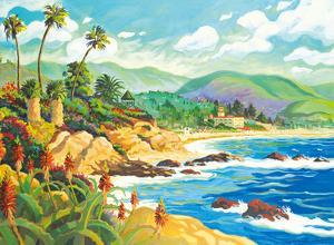 In Love with Laguna Beach - California - Seaside Ocean View by Robin Wethe Altman