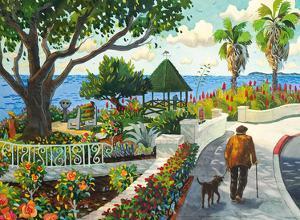 Walking By Las Brisas - Laguna Beach California - Mexican Seafood Restaurant by Robin Wethe Altman