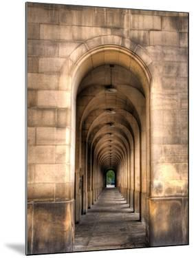 Archway through Manchester, England by Robin Whalley