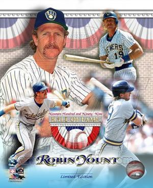 Robin Yount Hall of Fame Limited Edition
