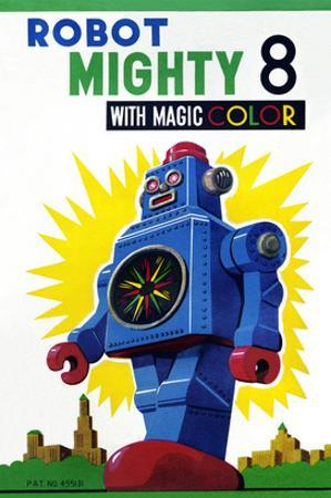 Robot Mighty 8 with Magic Color