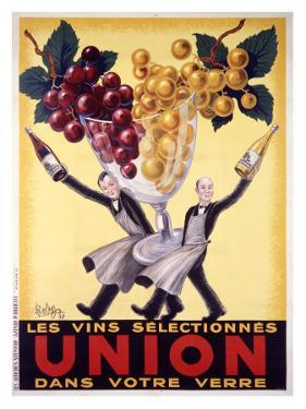 Les Vins Selectionnes Union by Robys (Robert Wolff)