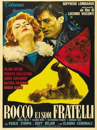 "Rocco And His Brothers, 1960 ""Rocco E I Suoi Fratelli"" Directed by Luchino Visconti"