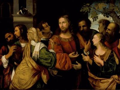 Christ and the Women of Canaan, c.1520 by Rocco Marconi