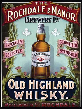 Rochdale & Manor - Old Highland Whisky