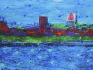 Boston Skyline by Rock Demarco