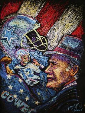 Dallas Cowboys 001 by Rock Demarco