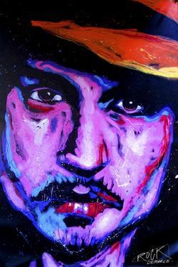 Johnny Depp Art 002 by Rock Demarco