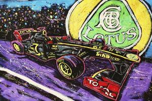 Lotus Race Car by Rock Demarco