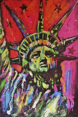 Statue Of Liberty Painting by Rock Demarco