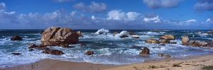 Rock Formations at the Coast, Brignogan, Finistere, Brittany, France