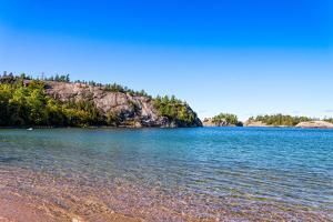 Rock Formations at the North Shore of Lake Superior, Ontario, Canada