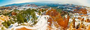 Rock Formations in a Canyon, Bryce Canyon, Bryce Canyon National Park, Red Rock Country, Utah, USA