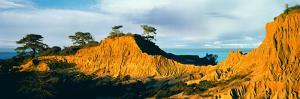Rock Formations on a Landscape, Broken Hill, Torrey Pines State Natural Reserve, La Jolla