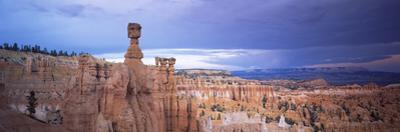Rock Formations on a Landscape, Thor's Hammer, Bryce Canyon National Park, Utah, USA
