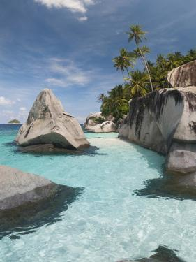 Rock Formations on the Coast, Pulau Dayang Beach, Malaysia