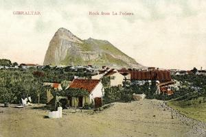 Rock from La Pedrera, Gibraltar, 20th Century