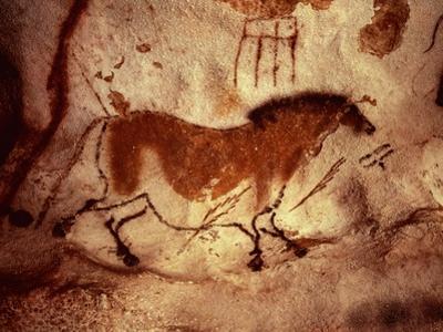 Rock Painting of a Horse, circa 17000 BC