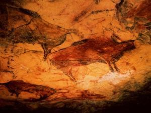 Rock Painting of Bison, circa 15000 BC