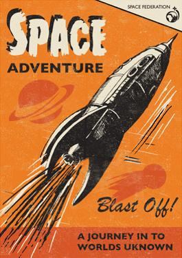 Space Adventure by Rocket 68