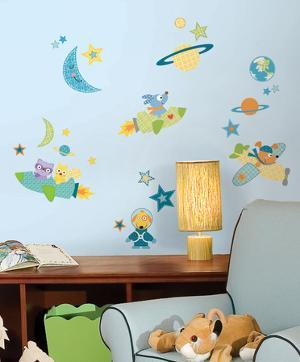 Rocket Dog Peel & Stick Wall Decals