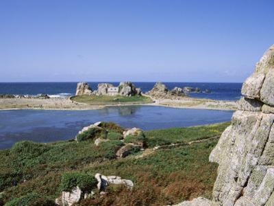Rocks and Coast, Pors Bugalez, Brittany, France