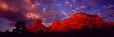 Rocks at Sunset Sedona AZ USA