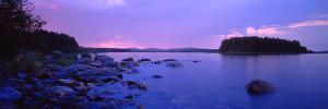 Rocks in a Lake, Lake Pielinen, North Karelia, Finland