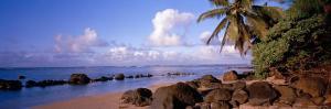 Rocks on the Beach, Anini Beach, Kauai, Hawaii, USA