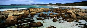 Rocks on the Beach, Friendly Beaches, Freycinet National Park, Tasmania, Australia