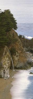 Rocks on the Beach, McWay Falls, Julia Pfeiffer Burns State Park, Monterey County, Big Sur, Cali...