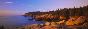 Rocks on the Coast, Acadia National Park, Maine, New England, USA