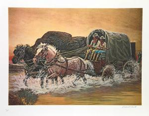 Cowboys Duet Home on the Range by Rockwell Smith
