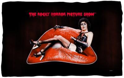 Rocky Horror Picture Show - Frank Lips Fleece Blanket