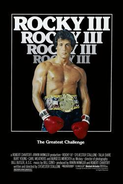 Rocky III [1982], directed by SYLVESTER STALLONE.