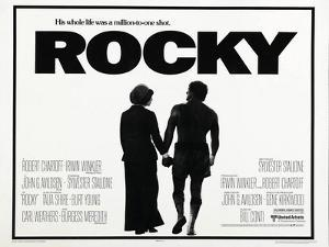 Rocky, L-R: Talia Shire, Sylvester Stallone, 1976