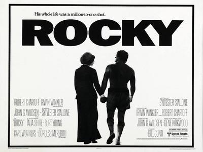Sylvester Stallone movie poster print 1976 Rocky