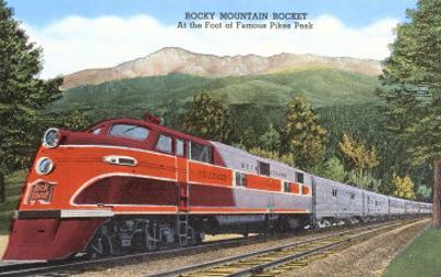 Rocky Mountain Rocket Train