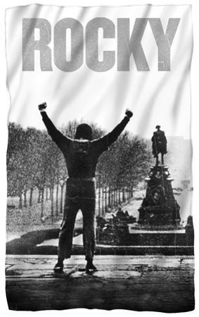 Rocky - Poster Fleece Blanket