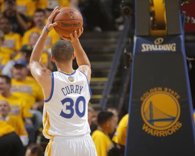 2014 NBA Playoffs Game 6: May 1, Los Angeles Clippers vs Golden State Warriors - Stephen Curry