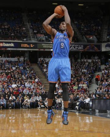 Apr 8, 2014, Oklahoma City Thunder vs Sacramento Kings - Serge Ibaka
